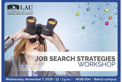 LAU | Events | Job Search Strategies - Beirut